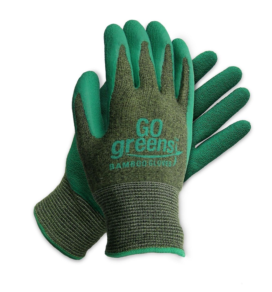 garden gloves. GARDEN - BBG 100% BIODEGRADABLE BAMBOO LATEX DIP GLOVE American Glove Garden Gloves N