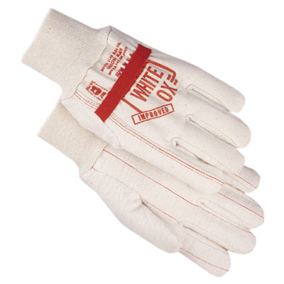 White Ox Cotton Work Glove - American Glove Company